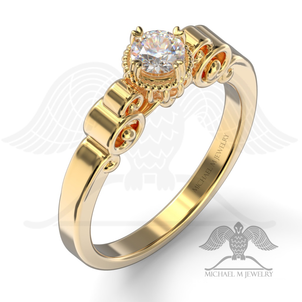 jewellery gold fairy clogau item ring rings sale engagement