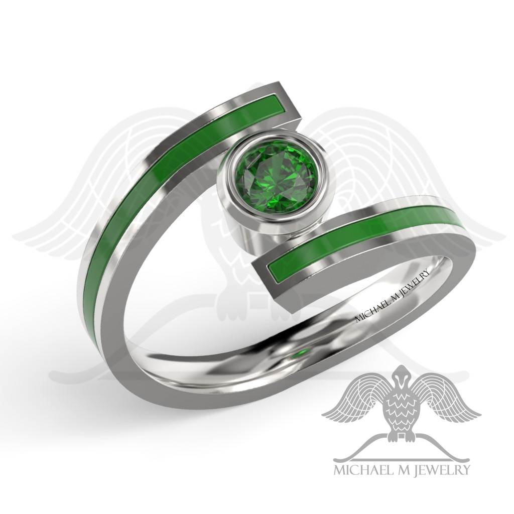 band apyi ring products rings wedding aluminum mens fullxfull pristine tungsten green by anodized interior il custom black