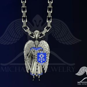 Pendants archives michael m jewelry saint st michael archangel pendant custom made hamdmade made to order aloadofball